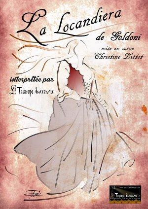 Affiche officielle de La Locandiera